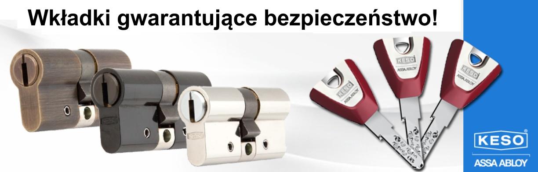 Antywłamaniowe wkładki Poznań