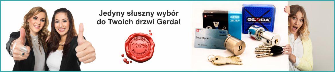 Zamek do drzwi Gerda RIM 6000S Poznań